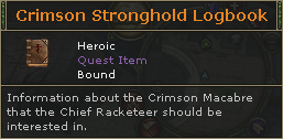 Crimson Stronghold Logbook
