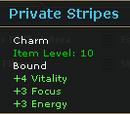 Private Stripes