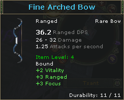 Fine Arched Bow
