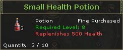 SmallHealthPotion