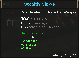 StealthClaws