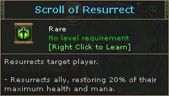 Scroll of Resurrect