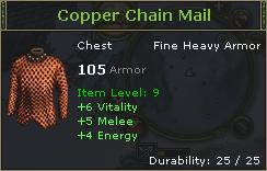 Copper Chain Mail