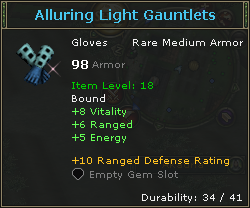 Alluring Light Gauntlets