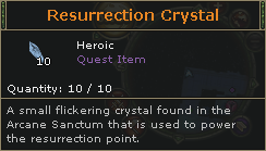 ResurrectionCrystal