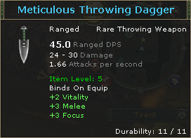 MeticulousThrowingDagger