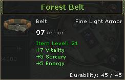 Forest Belt