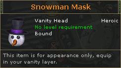 SnowmanMask