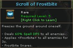 ScrollOfFrostbite
