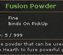 Fusion Powder