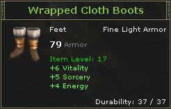 WrappedClothBoots