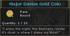 MajorDaviasGoldCoin