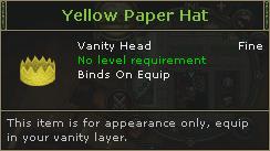 YellowPaperHat