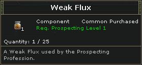 Weak Flux
