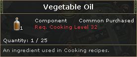 VegetableOil