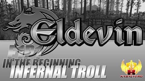 Eldevin Gameplay 2014 E1P1 In The Beginning ★ The Giant Infernal Troll Fell
