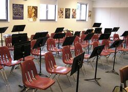 Band and Life classroom