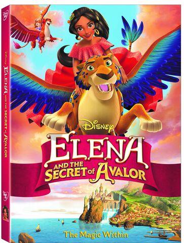 File:Elena and the Secret of Avalor DVD.jpg
