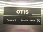Otis capbadge