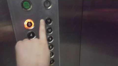 Otis Lexan Traction Service Elevator @Regency Hotel Macau
