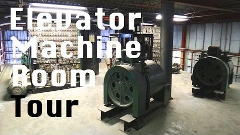 Elevator Machine Room Tour 1965 Otis Gearless Traction elevator Relay Logic Unit-1