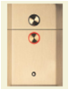 OTIS Series 4 hall button panel