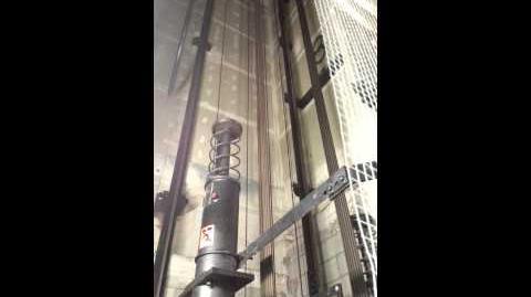 Elevator buffer test