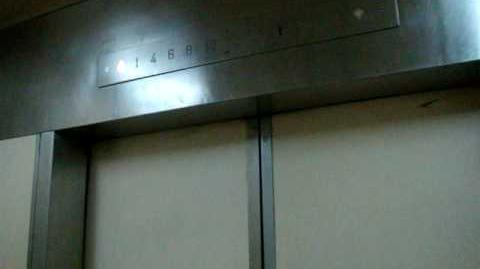 Teban Gardens Blk 4 Residental HDB - Otis Elevator (Original, 2-door)