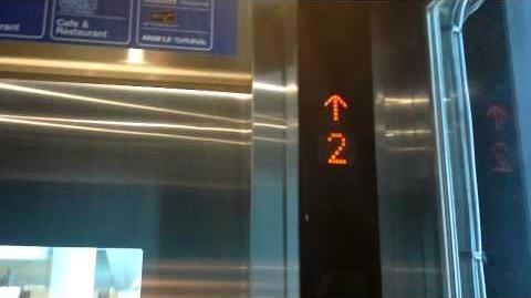 Terminal 21, Bangkok Brand New Mitsubishi Traction Glass Elevators - Retake 2-0