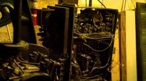 Vintage Otis Bottom Drive Winding Drum Traction Elevator Machine Room-0