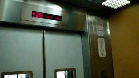 Bukit Panjang Blk 182 Residental HDB - LG High-Speed Elevator