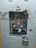 1970s Toshiba Freight inspection switches.