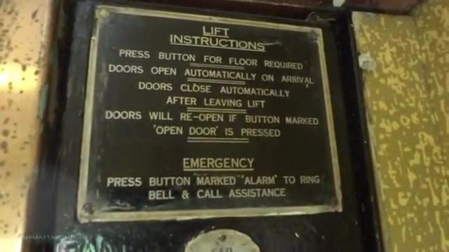 File:Old Express Lifts instruction sign.jpg