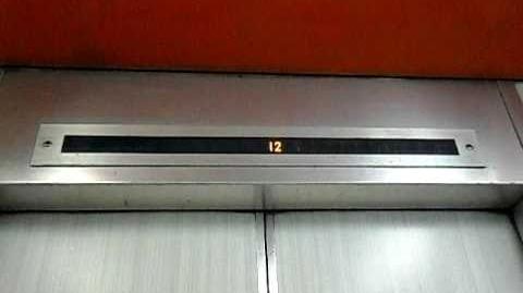 上環聯業大廈三菱升降機