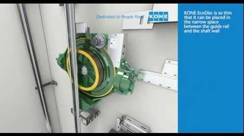KONE EcoDisk machine