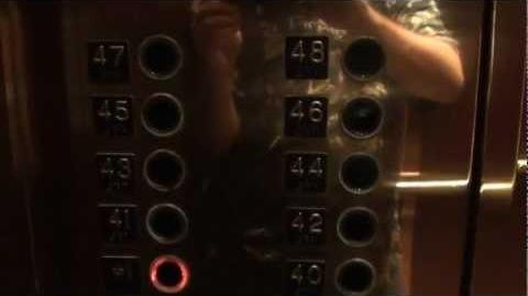 Awesome Otis Lexan High Speed elevator @ Thanksgiving Tower Dallas TX