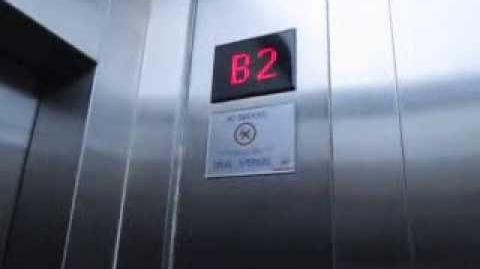 Schindler MRL Elevators at DBS Tower, Jakarta (Car Park)