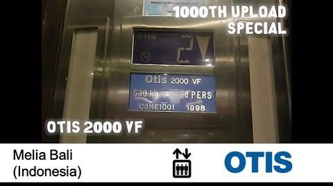 EXTREMELY RARE!! - OTIS 2000 VF Elevator at Melia Bali, Indonesia