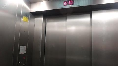 Schindler traction talking elevators at 9 Leonardo Da Vinci street in Tel Aviv