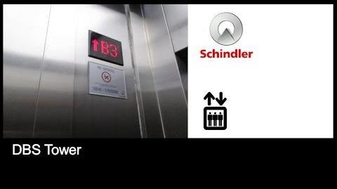 Schindler MRL Elevators at DBS Tower, Jakarta (Car Park)
