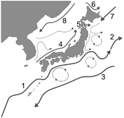 Japan's ocean currents