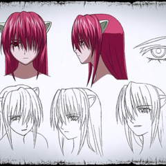 Lucy character sheet from the Blu-Ray DVD.
