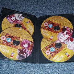 The DVD discs in the 101 Anime release