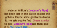 Veteran's Pipe