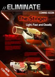 Eliminate stinger blog splash