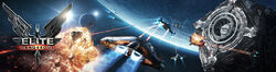 Elite Dangerous E3 Banner art