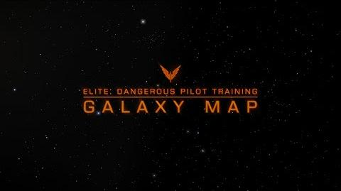 Elite Dangerous Pilot Training - Galaxy And System Map