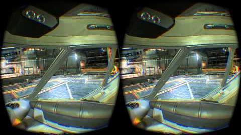 Elite Dangerous Oculus Rift DK2 - HAULER COCKPIT