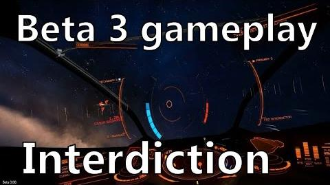 Elite Dangerous Beta 3 Gameplay - How to interdict other players