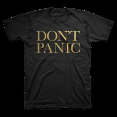 Don't Panic T-Shirt: £30.00